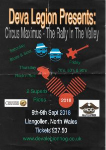 Circus Maximus - The Rally In The Valley @ Llangollen, North Wales